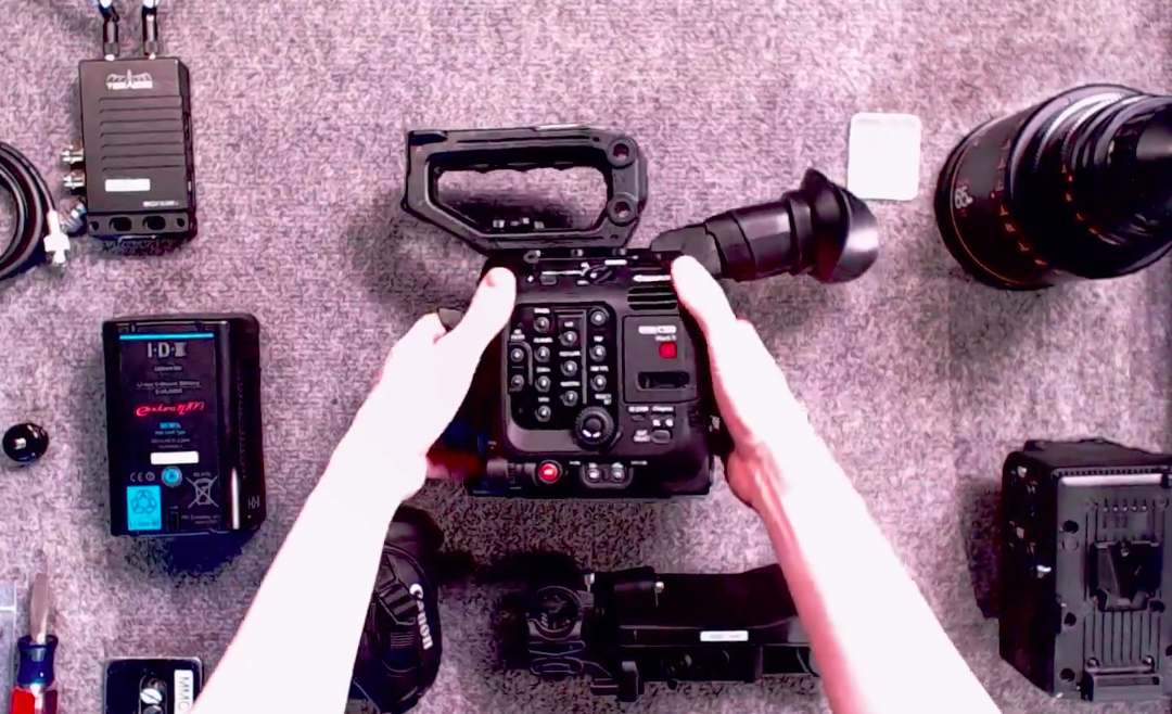 Canon C500 Mark II with an Atlas Orion Anamorphic Lens