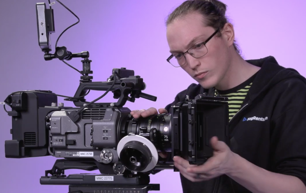 Sony FX9 Interview Setup