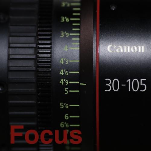 Focus control